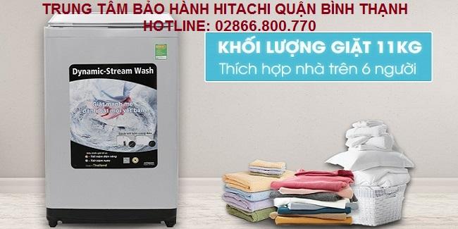 Trung tâm bảo hành máy giặt Hitachi quận Bình Thạnh