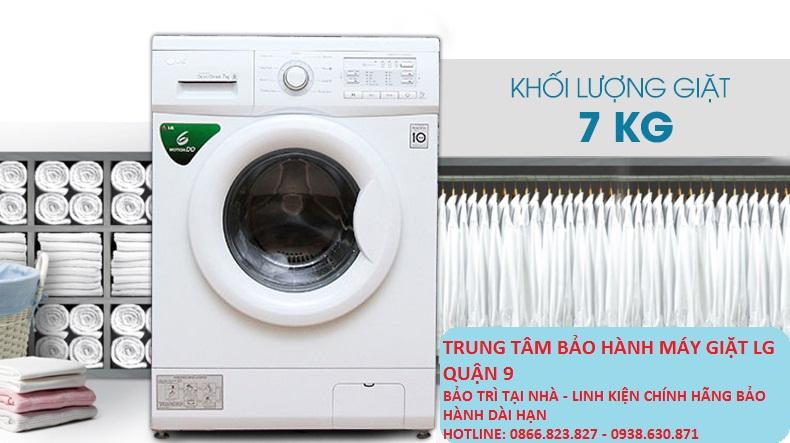 Trung tâm bảo hành máy giặt Lg quận 9
