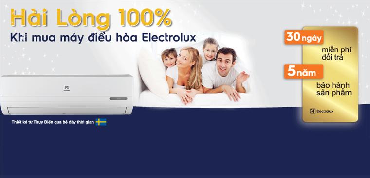 Trung tâm bảo hành máy lạnh Electrolux