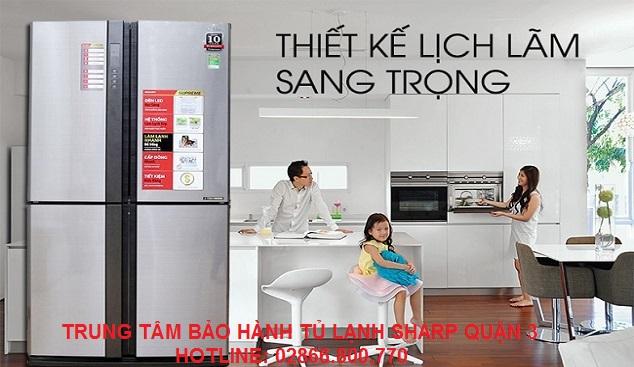 Trung tâm bảo hành tủ lạnh Sharp quận 3