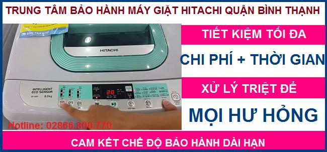 Trung tâm sửa chữa máy giặt Hitachi quận Bình Thạnh