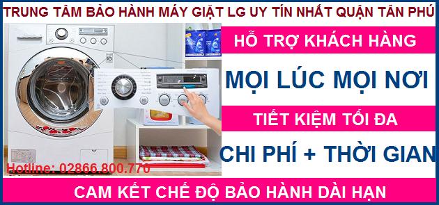 Trung tâm sửa chữa máy giặt LG quận Tân Phú
