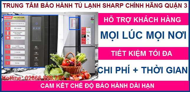 Trung tâm sửa chữa tủ lạnh Sharp quận 3